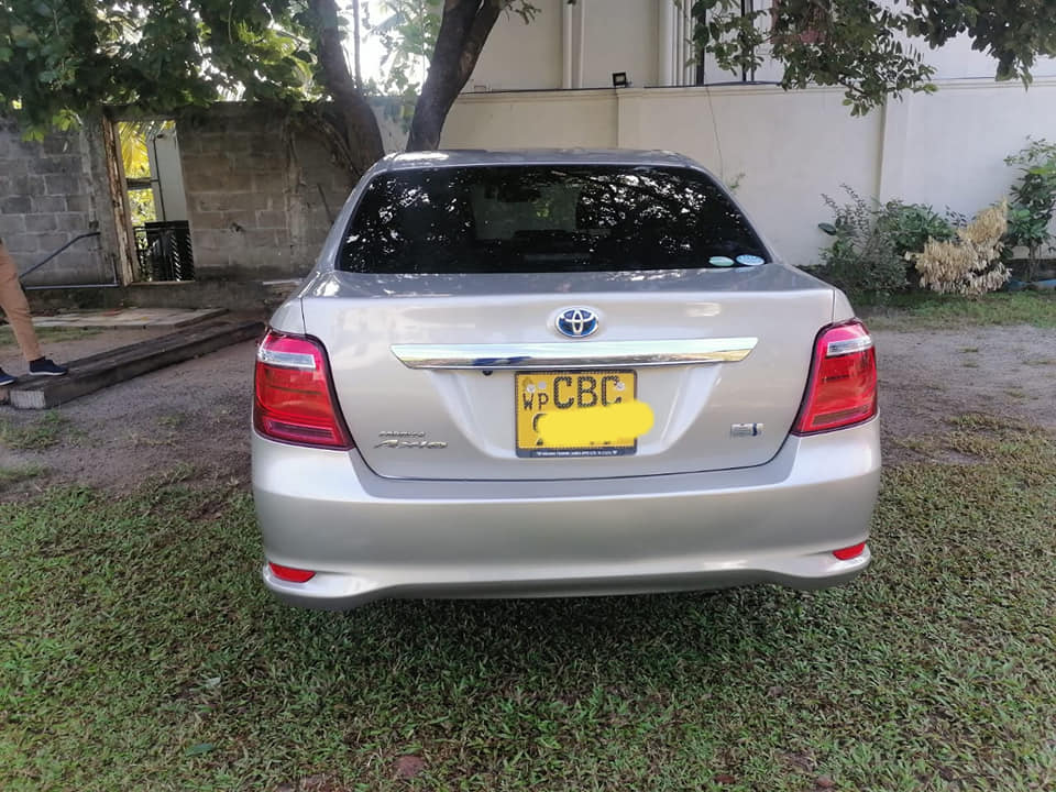 Toyota Axio 2018 registered