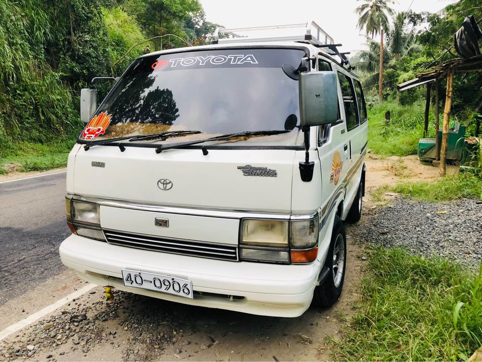 TOYOTA SHELL VAN FOR SALE KANDY