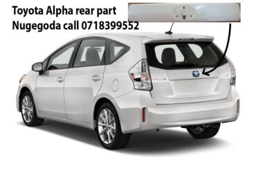 toyota prius alpha back body part, above number plate. new one,  for offer